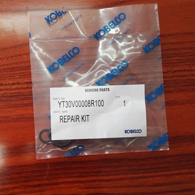 YT30V00008R100 Kobelco excavator SK200-6 seal repair kit for pilot valve assy